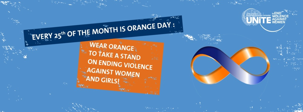 Get Ready for Orange Day!  #orangeday @SayNO_UNiTE @USNC_UNWomen @UNWomen